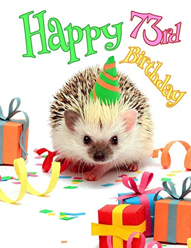 Happy 90th Birthday Cute Hedgehog Party Themed Journal