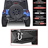 GSI Jeep Wrangler JK Rear Bumper with Swing Tire Carrier and Extras