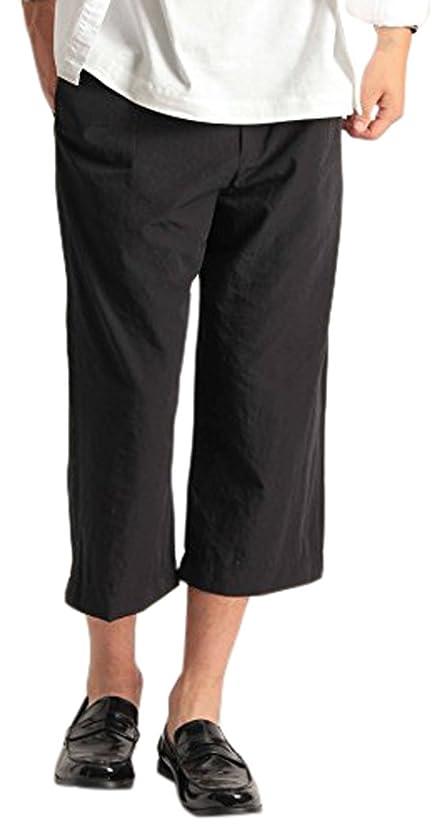 一貫したランチョン謎めいた[フォーリーフ] メンズ ミディアム丈 ハーフ スウェットパンツ 4色