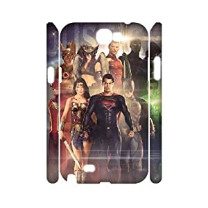 DDOUGS I Justice League High Quality Cell Phone Case for Samsung Galaxy Note 2 N7100, Cheap Samsung Galaxy Note 2 N7100 Case