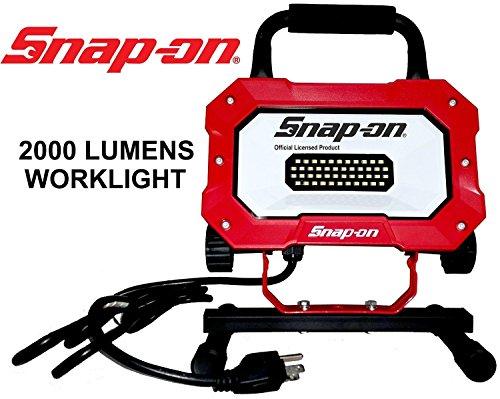 Snap On Portable LED Worklight 2000 Lumens 25W Indoor/Outdoor (Nunchaku 12 Cord)
