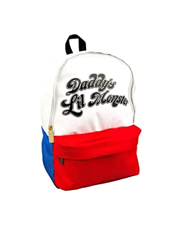 Harley Quinn Suicide Squad Papas Little Monster Handtasche