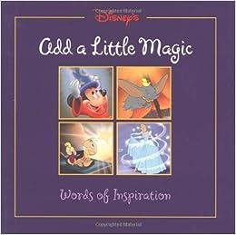 add a little magic gift book disneys