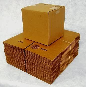 Amazon.com: 4x4x4 caja de embalaje para envío (25)200 ...