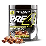 Magnum Pre4 - Extremely Concentrated Pre-Workout - 50 Servings (Candy Cola)