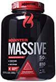 Cytosport Monster Massive Nutritional Drink, Protein Supplement Mix, Strawberry Flavored, 4.6 Pound (About 10 Servings)