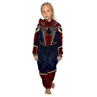 Amazon.com: Tsyllyp Mono de Halloween para niñas y niños con ...