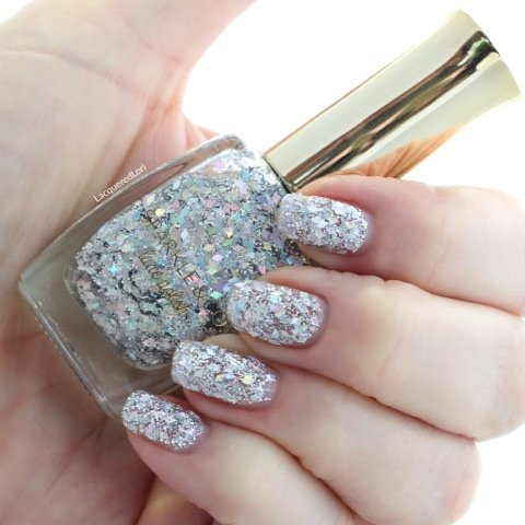 Sparkle and Co. Luxe Polish Holo Holiday: Clear Holographic Gllitter