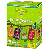 Annie's Organic Bunny Fruit Snacks, Variety Pack, 24 Pouches, 0.8 oz