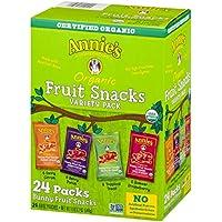 Aperitivos orgánicos de conejito Annie's Homegrown  paquete variado 0.8 oz...