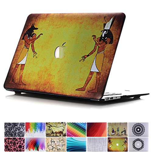 PapyHall MacBook Air 11 inch Case, MacBook Plastic Hard Case Mural Restoring Ancient Ways Print Hard Case for Apple Macbook Air 11 inch Model : A1370/A1465 - ()