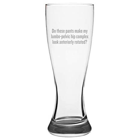 Amazon com | Physical Therapy Pilsner Glass - Physical