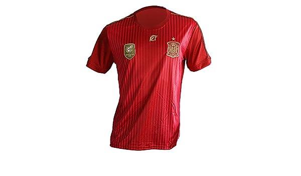 Camiseta Mundial Selección Española Original Rfef (M) Patroc ...