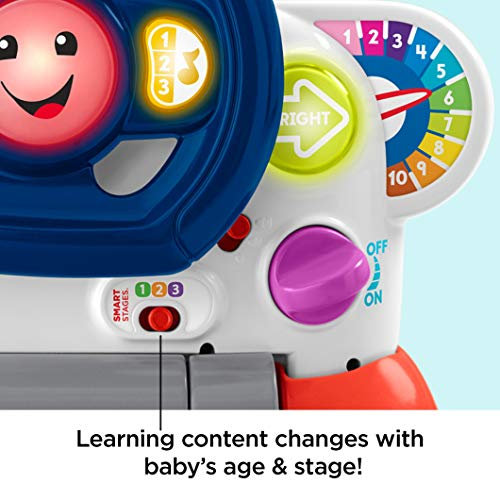 51Dfh7gs51L - Fisher-Price Laugh & Learn 3-in-1 Smart Car