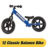 Toys : Strider - 12 Classic No-Pedal Balance Bike, Ages 18 Months to 3 Years, Blue