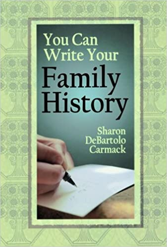 amazon com you can write your family history 9780806317830