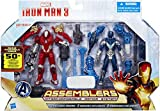 iron man 3 toys - Iron Man 3 Assemblers Exclusive Action Figure 2-Pack Red Snapper Iron Man & G...