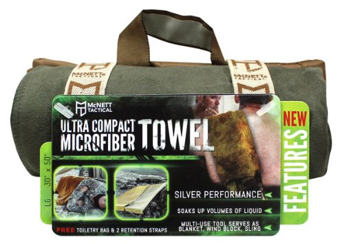 Gear Aid Quick Dry Microfiber Towel for Travel, Camping and Sports