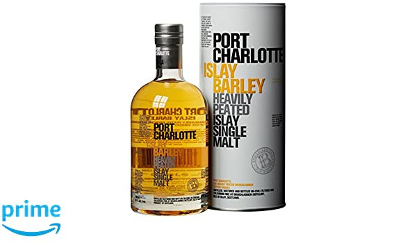 Bruichladdich Port Charlotte Islay Barley Single Malt Whisky 2011-700 ml: Amazon.es: Alimentación y bebidas