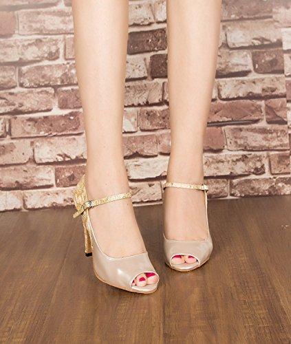 Miyoopark - salón mujer Beige-8.5cm heel