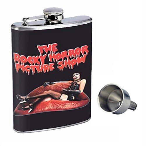 感謝の声続々! The Rocky Horror B015QLLOQQ Picture Picture Show Perfection inスタイル8オンスステンレススチールWhiskey Flask Free with Free Funnel d-272 B015QLLOQQ, アングラーズショップ ライジング:e9cf143b --- domaska.lt