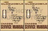 1969 Oldsmobile Repair Shop Manual Original 442/Cutlass/88/98/Toronado