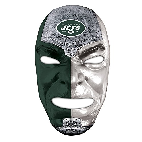 Franklin Sports NFL New York Jets Team Fan Face (Franklin Mask)