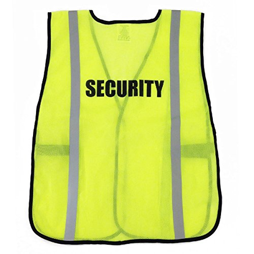 Ergodyne 8020HL SECURITY Safety Vest - Yellow/Lime
