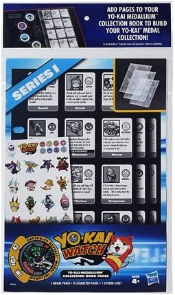 Yo-Kai - Páginas de Libro para Reloj de la colección Medallium (la Serie Puede Variar)