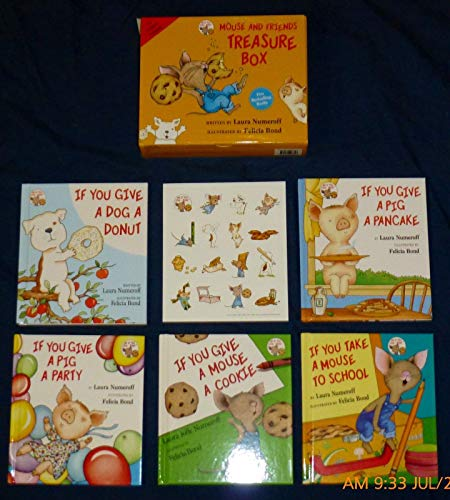 - mouse and friends treasure box (5 books in box set)