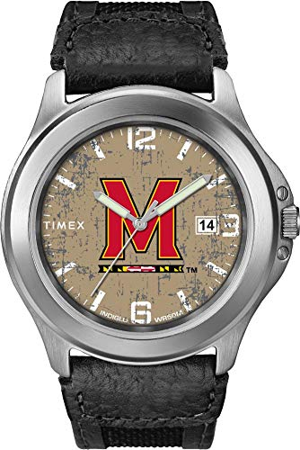 - Timex Men's University of Maryland Terps Watch Old School Vintage Watch
