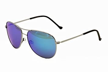 Adidas Liverpool ah65 ah/65 6050 Shiny Silver Aviator Sunglasses