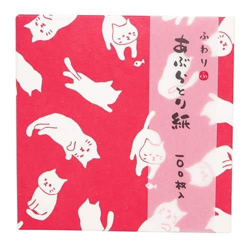 Softly Oil Blotting Paper/cat