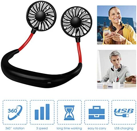 Portable Personal Neckband Rechargeable Adjustment
