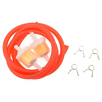 gas hose fuel line spring clips fuel filters for tomberlin crossfire 150r  yerf dog spiderbox 150cc
