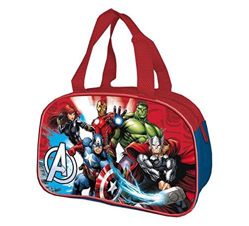 23 cm Rojo Cerd/á 3D Avengers Bolso de Viaje