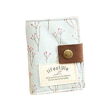 Eudola Porte Cartes De Visite Mignonne Creatif Pastoral Floral Titulaire La Carte
