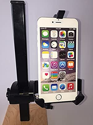iPhone Golf Cart Mount - Fits all iPhones including 6 and 6+