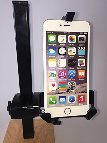 Caddie Buddy Phone Golf Cart Mount/Holder - Fits + Size phones wider than 2.8