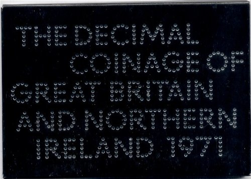 The Decimal Coinage of Great Britain and Northern Ireland 1971 Coin Set