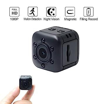 LXMIMI - Mini cámara Oculta 1080P HD con visión Nocturna por Infrarrojos y detección de Movimiento