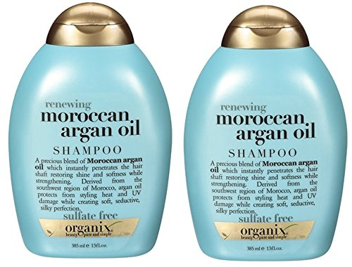 Organix OGX Renewing+ Argan Oil Of Morocco Shampoo, 10 Ounce (2-Pack)