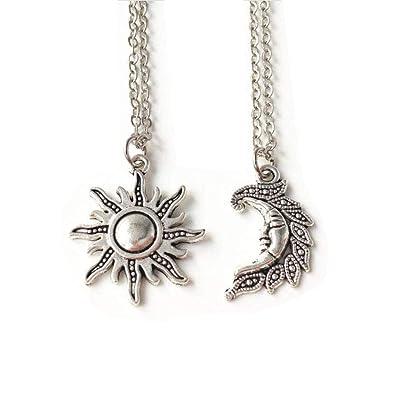 ffba7e0a0f Amazon.com: Sun and Moon Set, set of 2, Best Friends, sun and Moon ...