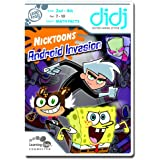 LeapFrog  Didj Custom Learning Game Nicktoons - Android Invasion