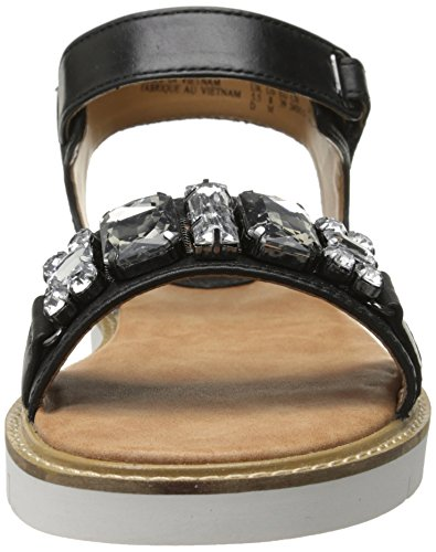 Clarks Lydie Joelle gladiador sandalia Black Leather