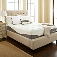 Perfect Cloud Elegance Memory Foam Mattress (Twin) - 12-Inches Tall - Features Luxurious Fabrics and Double Layer of Visco-Gel Cool Design for All-Night Comfort