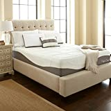 Perfect Cloud Elegance Gel-Pro 12 Inch Memory Foam Mattress (Queen) - Featuring Luxurious Fabrics & Double Layer of Visco Gel Cool Design For All-Night Comfort
