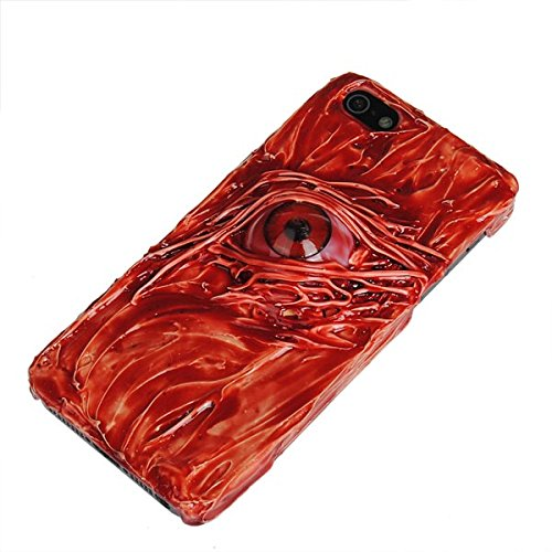 Handmade Hallowmas Sanglante Case Protector Shape One Eye For iPhone 5