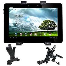 Support pratique de fixation voiture grille d'aération 360° pour tablettes tactiles Amazon Fire HDX 8.9 Tablet, Asus Transformer Book T200TA et Tesco Hudl 2 - DURAGADGET