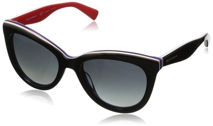 74acdd71f9 D G Dolce   Gabbana Women s 0DG4207 Cat-Eye Polarized Sunglasses ...